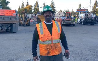 Anthony Williams at Jobsite