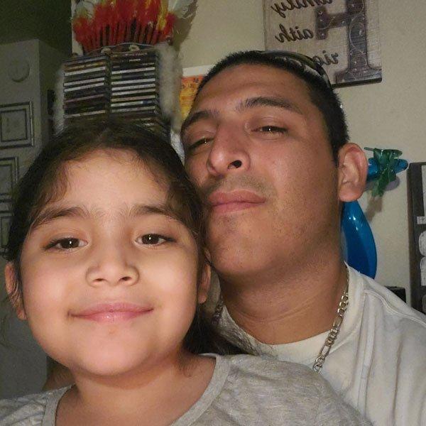 Juan Mojica & Daughter