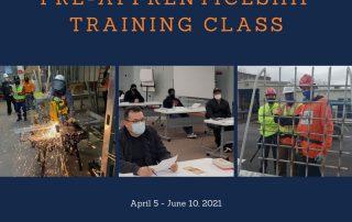 Spring 2021 Class Calendar