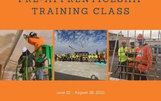 Summer 2021 Class Calendar