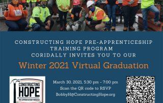 Winter 2021 Virtual Graduation Invitation Event
