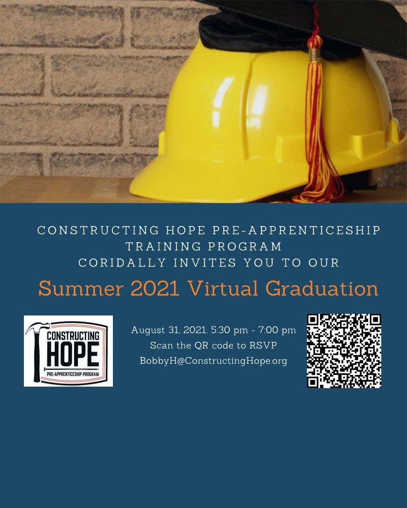 2021 Summer Virtual Graduation Invitation