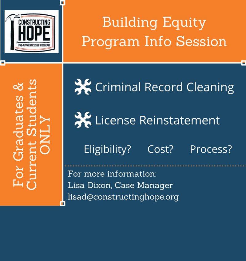 Building Equity Program Info Session