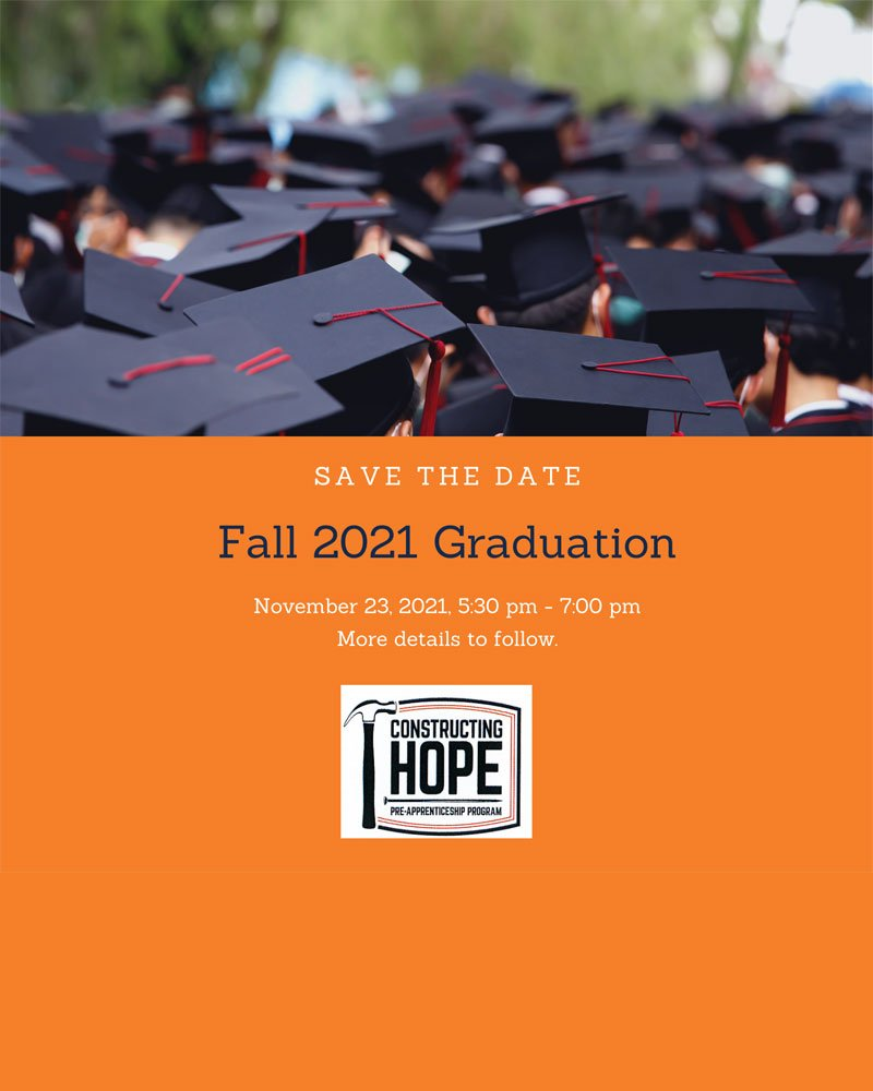 CH Fall 2021 Graduation Save-the-Date
