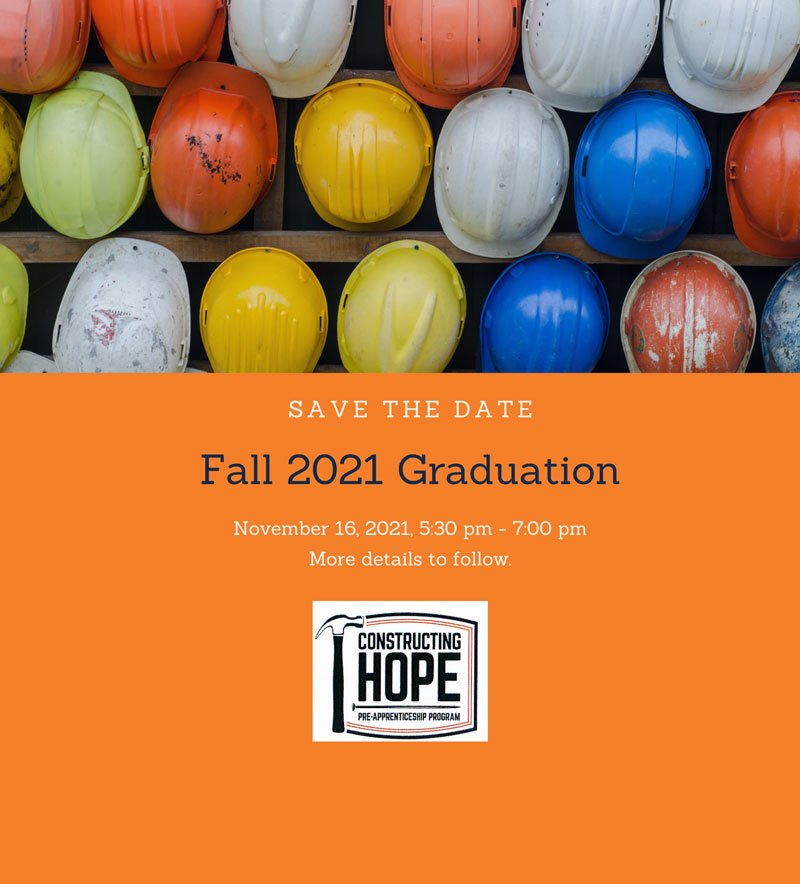 Fall 2021 Graduation Save-the-Date