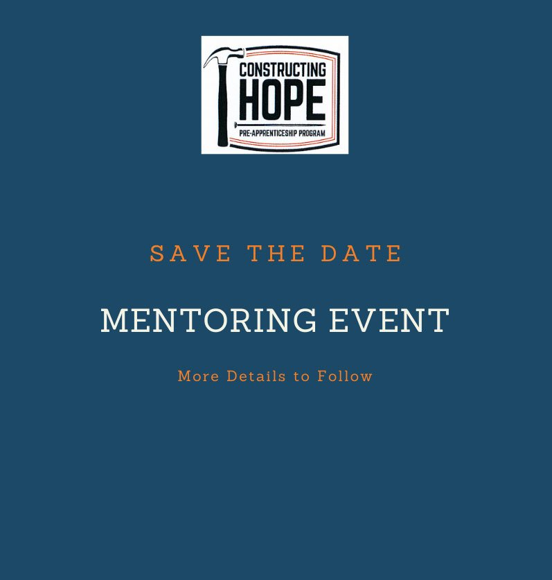 Mentoring Event Save the Date