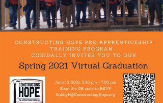 Spring 2021 Graduation Invitation Event