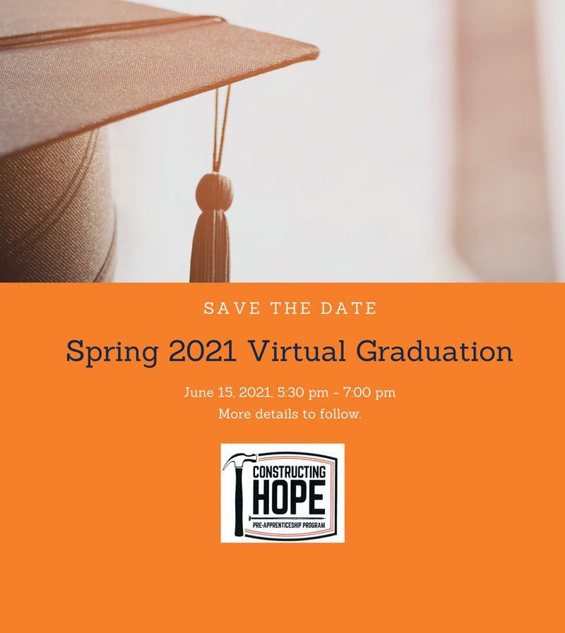 Spring 2021 Graduation Save-the-Date