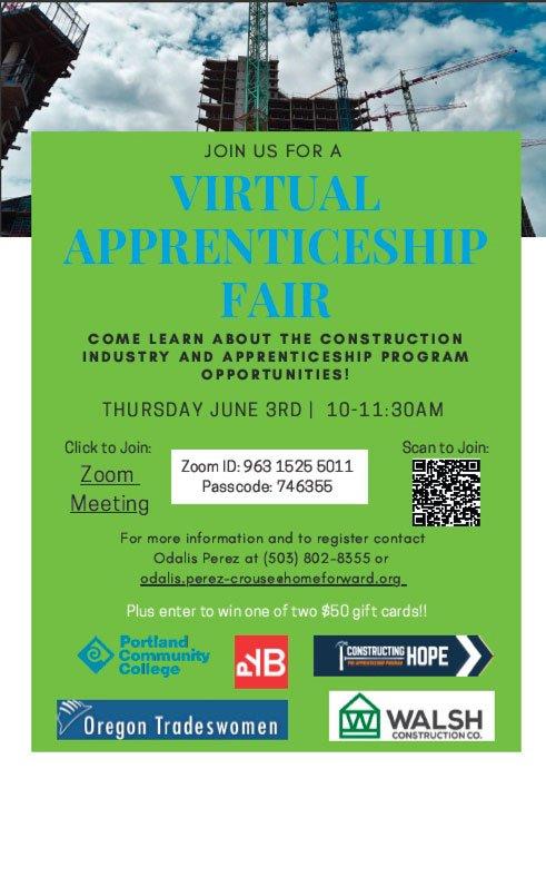 Virtual Apprentice Fair 2021